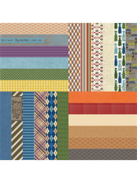 All About Fall by Lauren Hinds What a Guy Border Strips