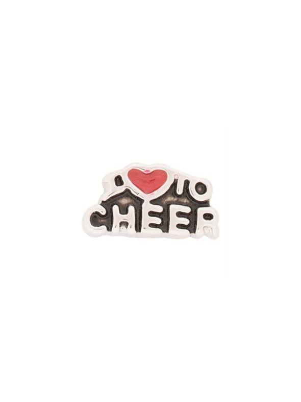 I Love To Cheer Charm