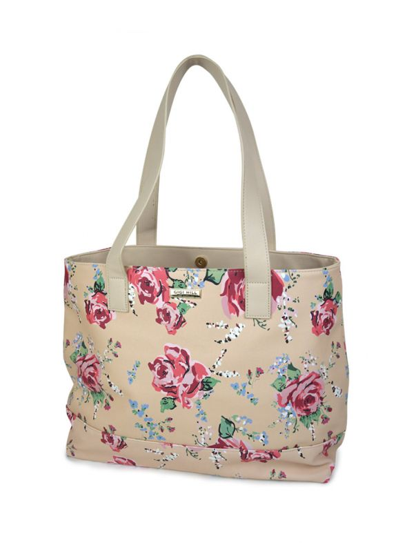 Anne Antique Floral Large Tote