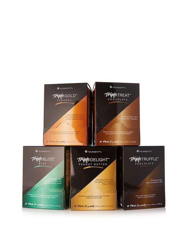 Triple Chocolates