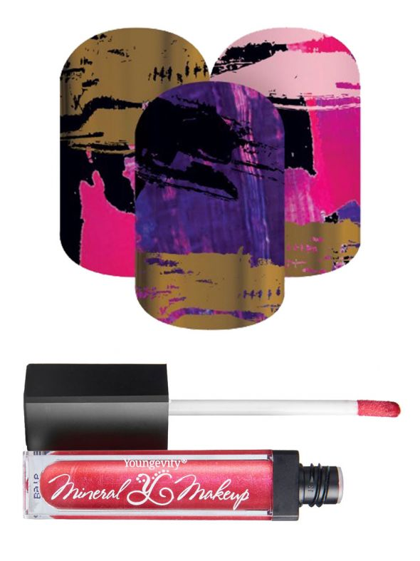 Lacquer Strip StyleBox - August