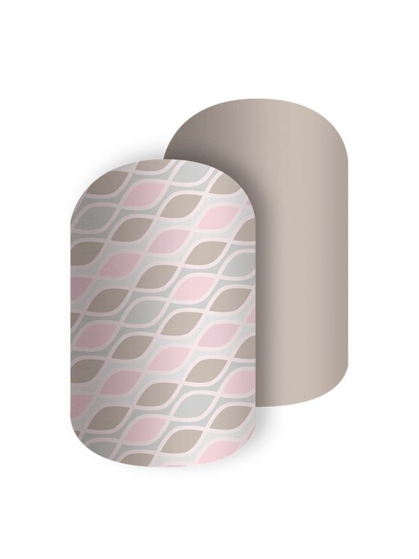A Bundle of Curves - Nail Wrap