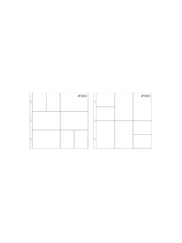 Anthology 12 x 12 Mixed Pocket Protectors (20 pack – 2 styles)