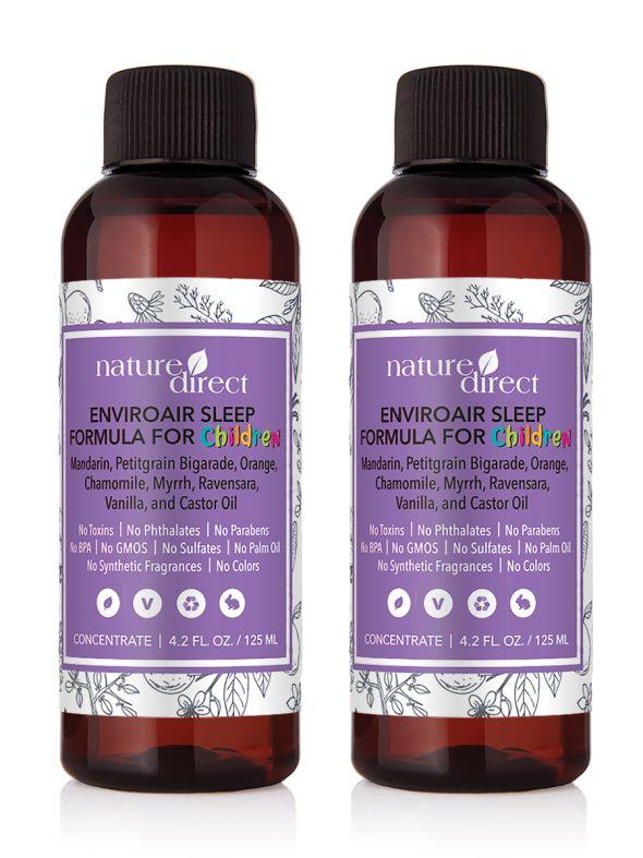 Nature Direct EnviroAir™ Sleep Formula for Children Concentrate - 125ml 2-Pack Bundle