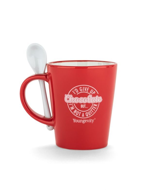 Youngevity Hot Chocolate and Coffee Mug