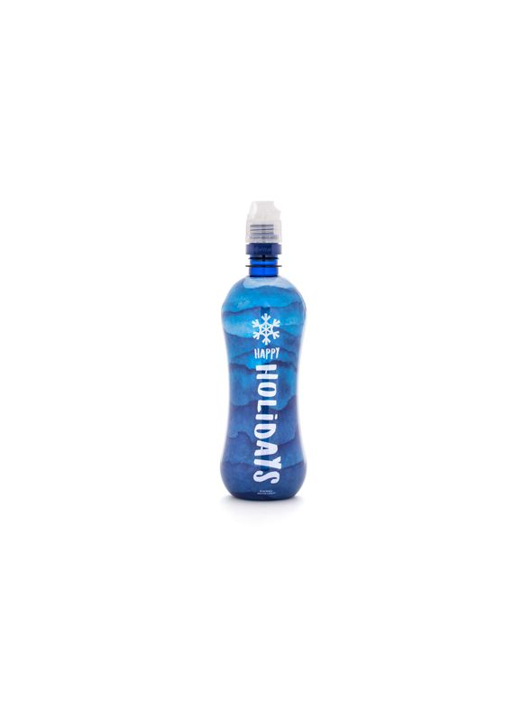 Happy Holiday Blue Y-DR8+™ Bottle